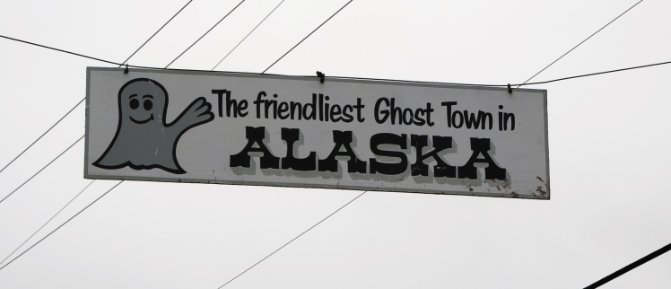 Sign Ghost Town