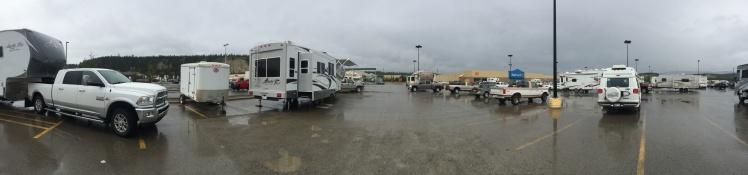Wal-Mart Camping