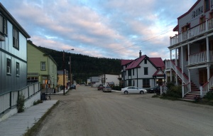 Downtown Dawson, or, possibly Cicely?