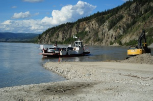 George Black Ferry across the Yukon River