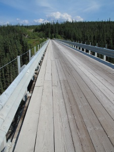 Kuskulana River Bridge surface