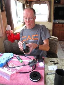Rebuilding a motor