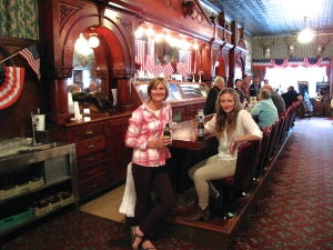 Queen Victoria's Bar in the Irma Hotel
